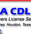 CDL Drivers license training Houston Tx