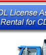Class A CDL Drivers license truck rental